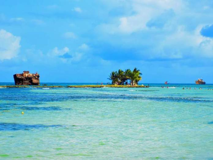 Praias paradisíacas San Andrés Cocoplum
