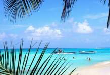 Praias paradisíacas San Andrés Peatonal
