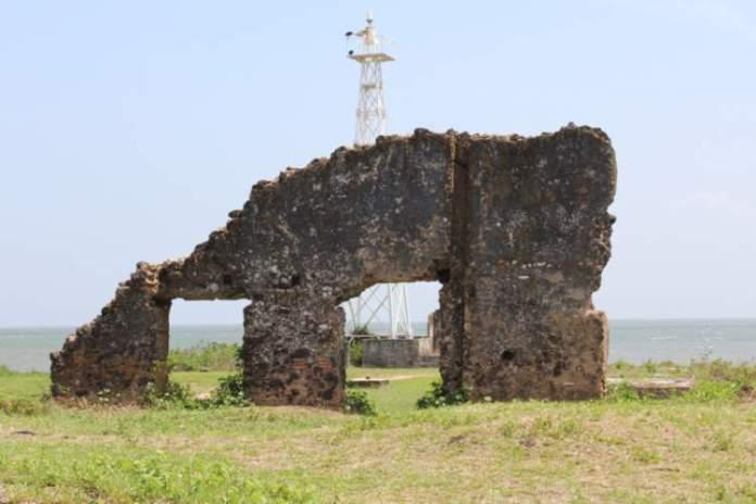 ruínas de Joanes na Ilha de Marajó