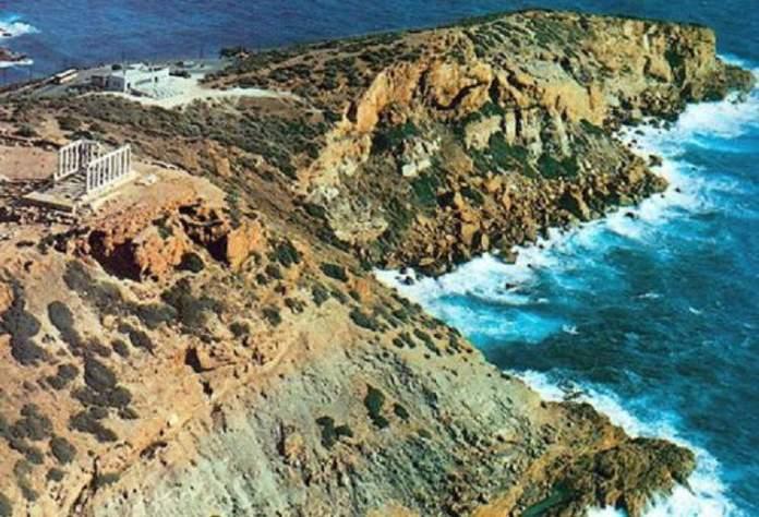 Cabo de Sounion na Grécia 2