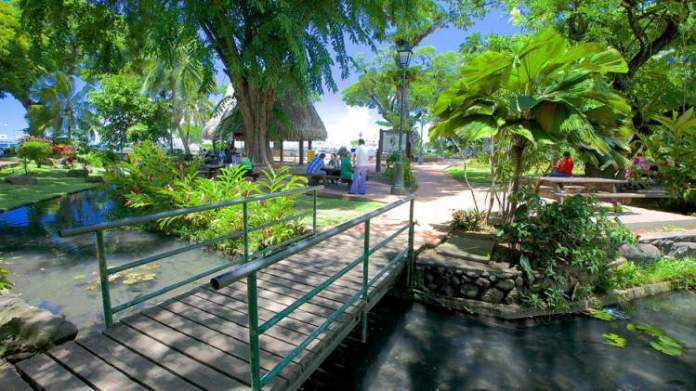Parc Bougainville é um dos pontos turísticos mais lindos do Tahiti