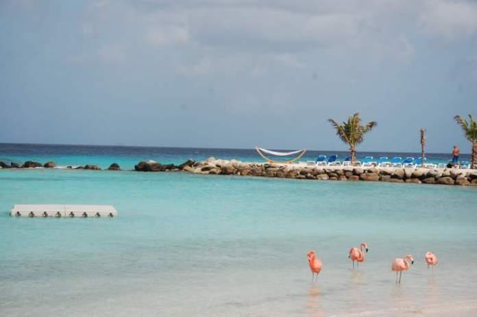 Renaissance Island é uma das melhores praias de Aruba