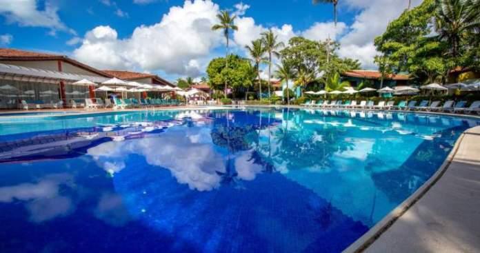 Resort Villaggio Arcobaleno é uma opção de hotéis e resorts all inclusive em Porto Seguro