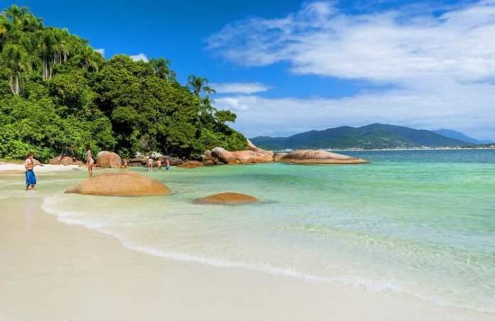 Campeche é um dos pontos turísticos em Florianópolis