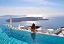 Santorini Apreciar belas paisagens