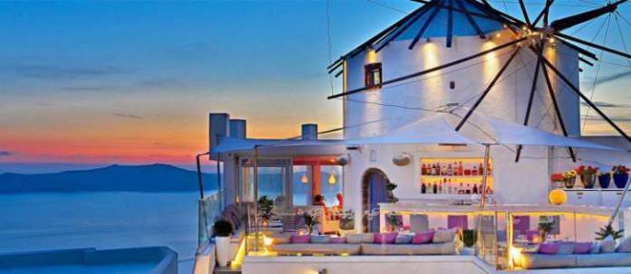 Santorini restaurantes