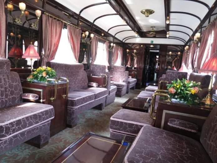Viagens de trem em Venice Simplon-Orient-Express (Europa) conforto