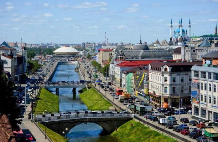 Kazan é uma das cidades sedes da Copa do Mundo de 2018