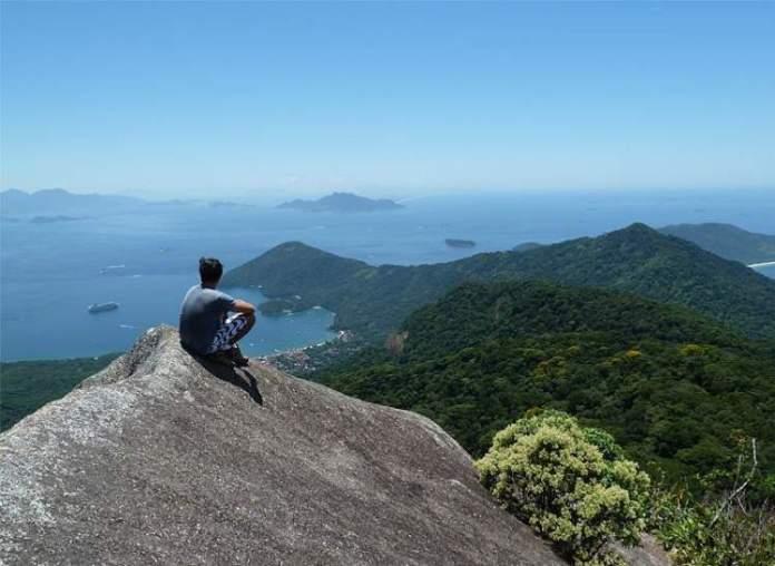Pico do Papagaio em Ilha Grande