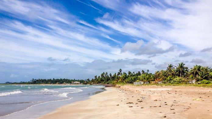 Praia de Costa Brava, Paripueira, Maceió, Alagoas.