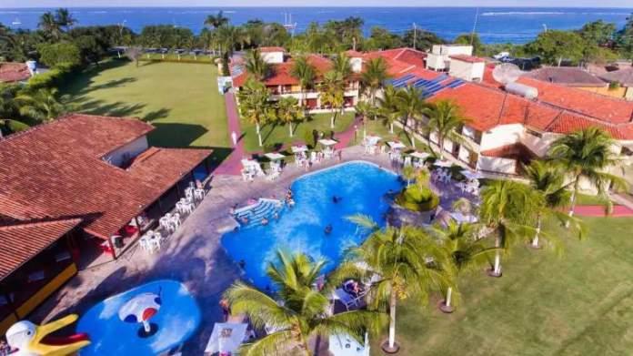 Coroa Vermelha Praia Hotel é um dos melhores hotéis para curtir as férias em Porto Seguro