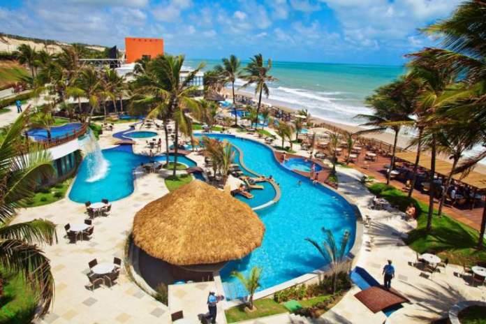 Ocean Palace Beach Resort & Bungalows é um dos melhores hotéis pé na areia