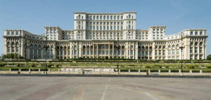 Palácio do Parlamento Bucareste Romênia