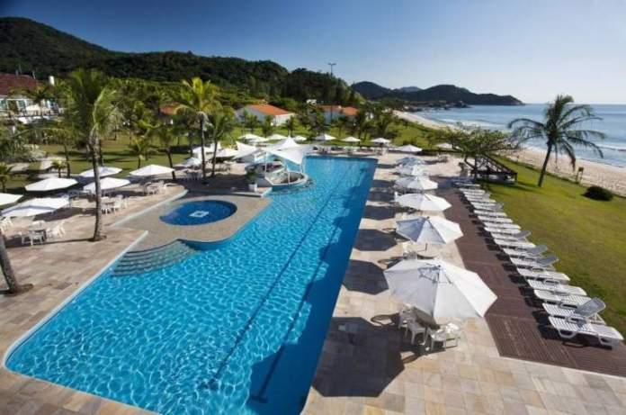 Plaza Itapema Resort & Spa é um dos melhores hotéis pé na areia