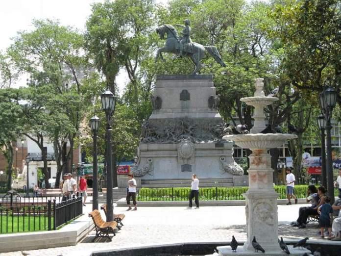 Plaza San Martin em Córdoba
