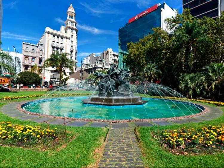Plaza del Entrevero em Montevidéu