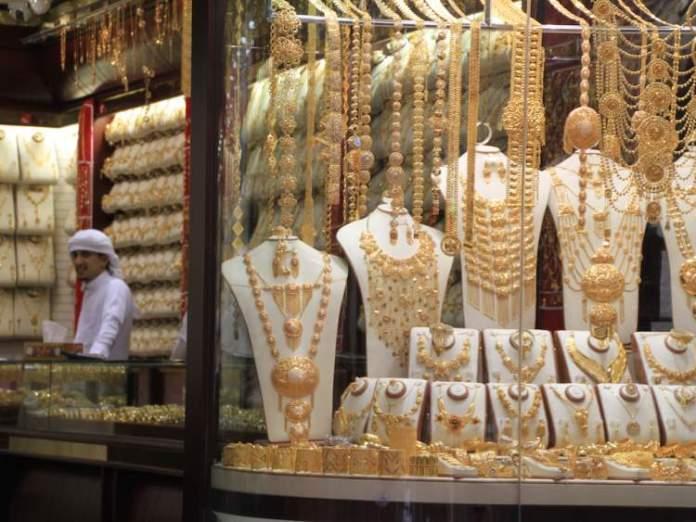 Souks de ouro é uma das principais atrações turísticas em Dubai
