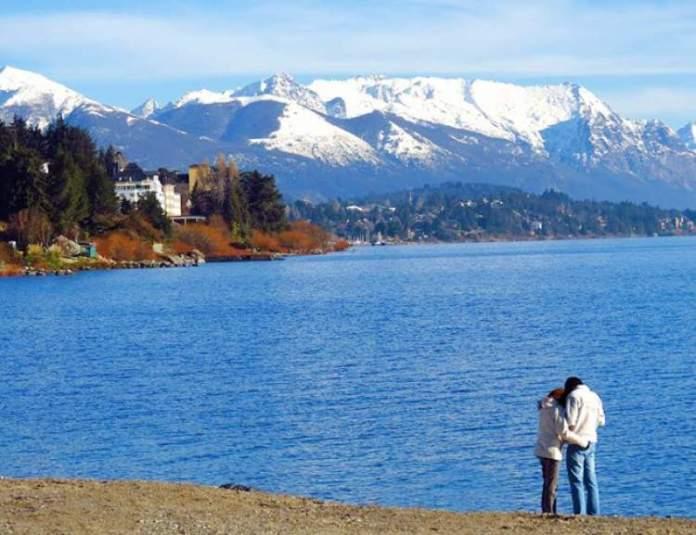 Um dos motivos para você viajar para Bariloche é ser um passeio romântico