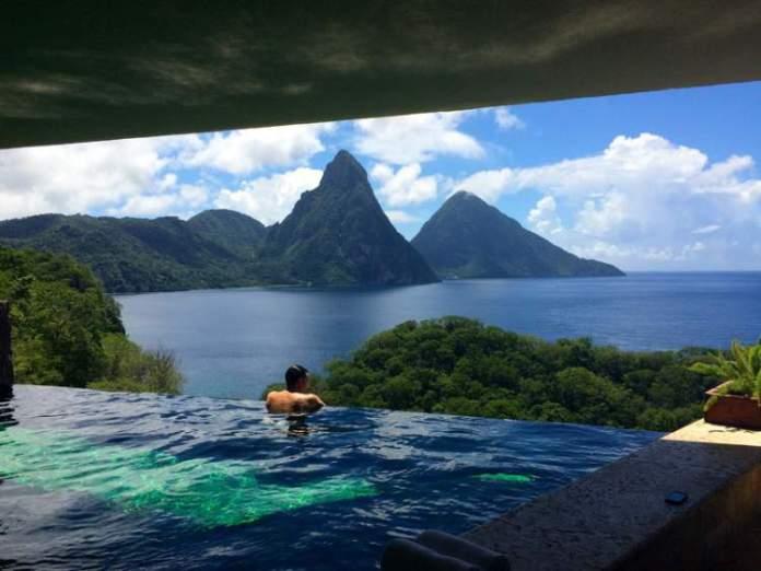 hotéis mais românticos do mundo em Santa Lucia