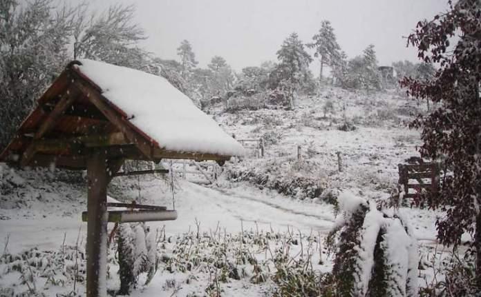 Bom Jardim da Serra em Santa Catarina é um dos lugares no Brasil que costumam nevar no Inverno