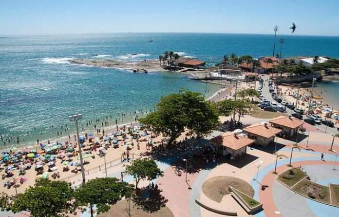 Castanheiras em Guarapari é uma das praias do Espírito Santo