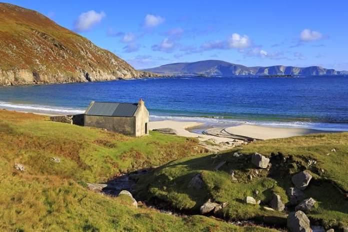 Ilha de Achill é um doslugares mágicos da Irlanda