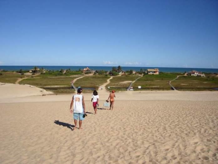 Itaúnas é uma das praias do Espírito Santo