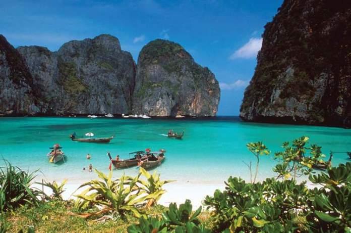 Maya Bay é uma das mais lindas praias da Tailândia