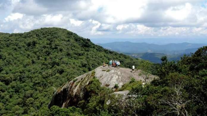 Pedra Redonda é uma das atrações turísticas em Monte Verde