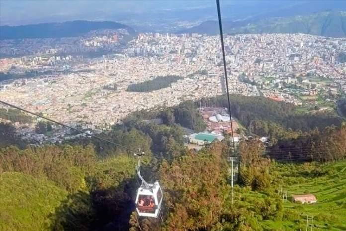 Teleférico em Quito