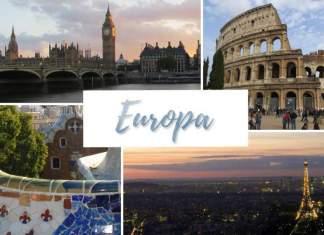 conhecer a Europa capa