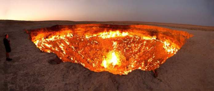 As portas do inferno – Derweze é um dos lugares para fazer uma viagem diferente