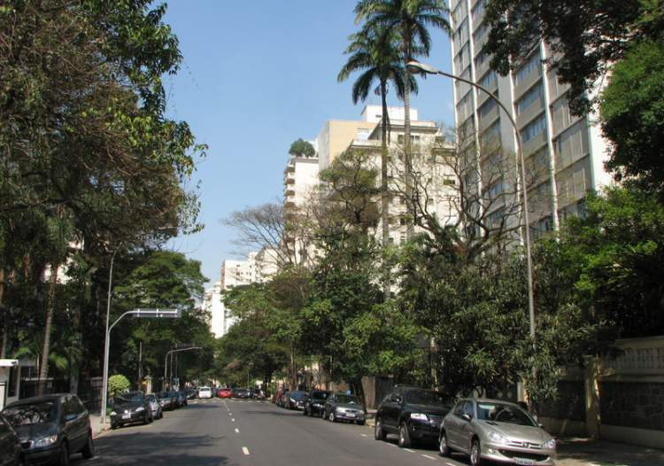 Bairro Higienópolis é um dos locais para hospedar em São Paulo