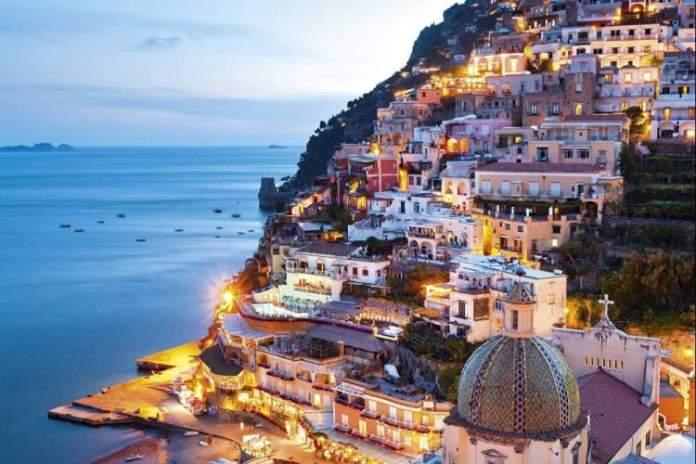 Costa de Amalfi é um dos melhores lugares para viajar a dois