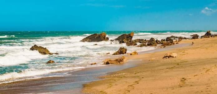 Praia Malhada é uma das praias mais bonitas de Jericoacoara