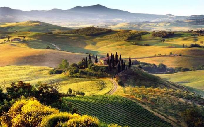 Toscana é um dos melhores lugares para viajar a dois