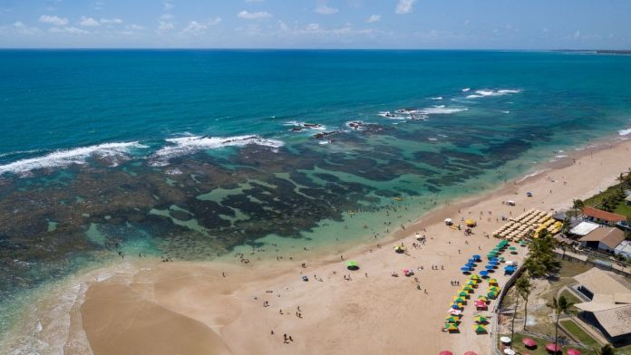 Praia do Pontal do Cupe, Ipojuca, Pernambuco