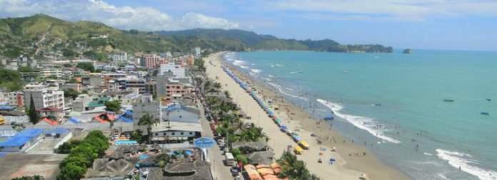 Atacames é uma das praias mais bonitas do Equador