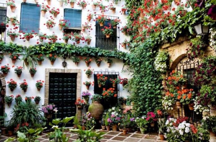 Calleja De Las Flores em Córdoba na Espanha