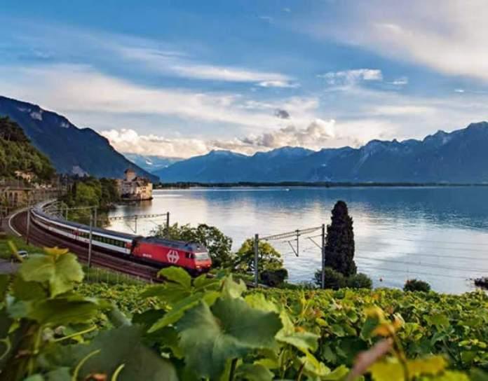 Cantão de Vaud é um dos lugares maravilhosos na Suíça