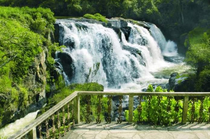 Conhecer a Cachoeira Véu das Noivas é uma das dicas de o que fazer em Poços de Caldas