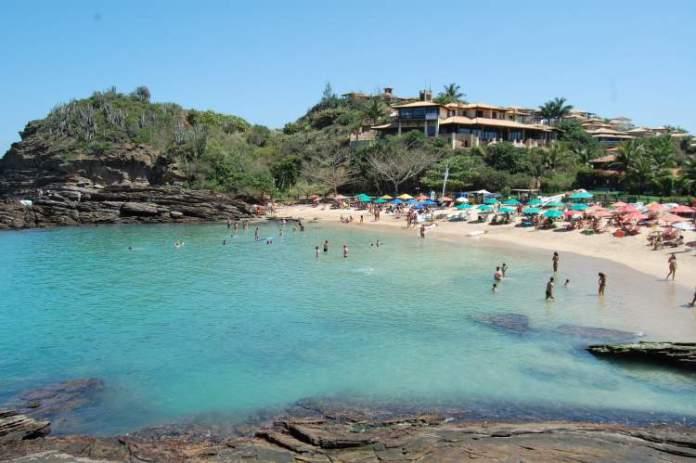 Ferradurinha é uma das praias mais bonitas de Búzios