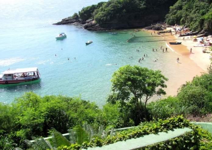 João Fernandinho é uma das praias mais bonitas de Búzios