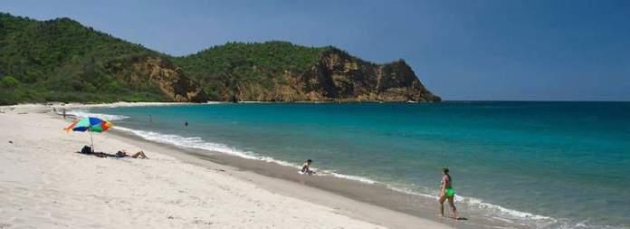 Los Frailes é uma das praias mais bonitas do Equador