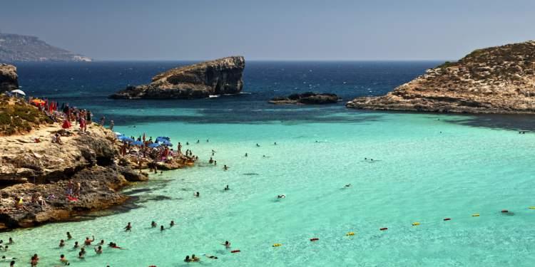 Malta é um dos destinos imperdíveis na Europa para amantes de praia