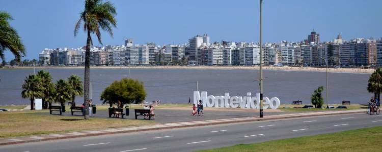 Montevidéu é um dos destinos encantadores no Uruguai