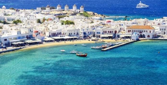 Mykonos é um dos destinos imperdíveis na Europa para amantes de praia