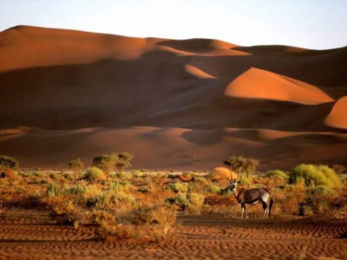 Namíbia na África é um dos destinos mais baratos para viajar em Setembro 2018