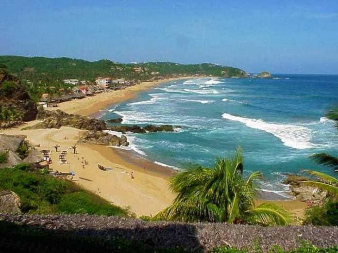 Playa Zipolite no México é uma das praias mais perigosas do mundo