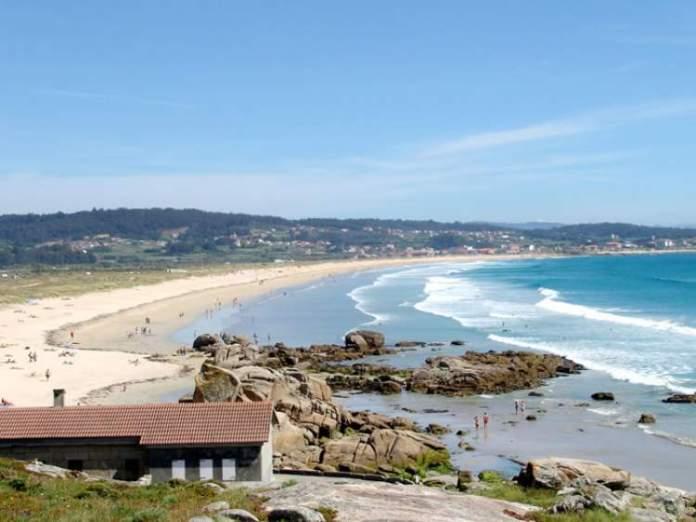 Playa de la Lanzada é uma das melhores praias da Espanha
